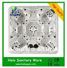 2802 Wholesale hot tubs outdoor spas 7 seats for party