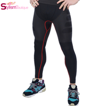 Hot Men's Sport Pants High Waist Men Joggers Pants Slimming Underwear Body Shapers Pressure Trousers Gym Sports Suits Fitness