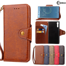 Buy Flip Case Sony Xperia XZ X Z F8332 F8331 Wax Oil Business Leather Cover Phone Case Sony Kagura Dual 601SO SO-01J Capa for $6.69 in AliExpress store