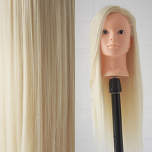 Practice Cutting Hairdressing Training Mannequin Head with Hair Manikin Head Hair Styling For Make up Mannequins Head