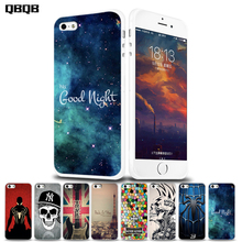 Cool Cases for iPhone4 case Silicone for iphone Se Case Transparent Original Design Soft for iphone5 5S Case Spider-Man cross