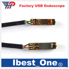 Free Shipping!!Factory Outlet wholesale Mini Camera DIY HD 720P 7MM USB Endoscope Module With 6LED 1600*1200