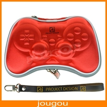 Protective Carry Hard Bag Airform Game  Pouch Case Shell For Playstation 3 PS3 Wireless Controller Red Black Blue