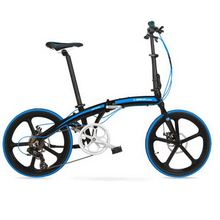 tb250908-1/20-inch folding car/7-speed ultra-light aluminum alloy two-disc brakes men and women folding bike/Electrostatic paint(China)