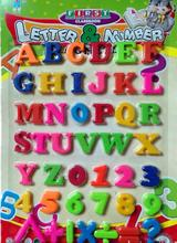 New 2017 Set Of 36 Colorful Teaching Magnetic Numbers Fridge Magnets Alphabet(China)