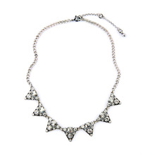 2016 Fashion Women Costumes Jewelry Modern Design Delicate Detailed Design Sparkling Crystals Stargaze Petite Collar Necklace