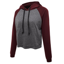 Sweatshirts Supplies Goods Women Latest Magic Faddish Beautiful Patchwork Excellent Products Hooded(China)