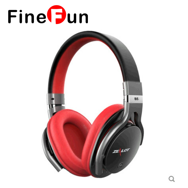 FineFun B5 Powerful Bass Earphones Wireless Bluetooth Stereo For Hi-Fi Headset Earphones With Microphone, Micro-SD Card Holder<br><br>Aliexpress