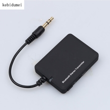 Mini 3.5mm Bluetooth Audio Transmitter Receiver Wireless A2DP Stereo Dongle Adapter for TV iPod Mp3 Mp4 PC(China)