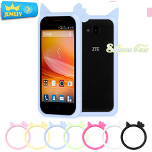 High Quality For ZTE Geek V975 Universal Silicone Bumper case For ZTE Grand X Quad V987 V967S Ring Bumper Protector Big Size
