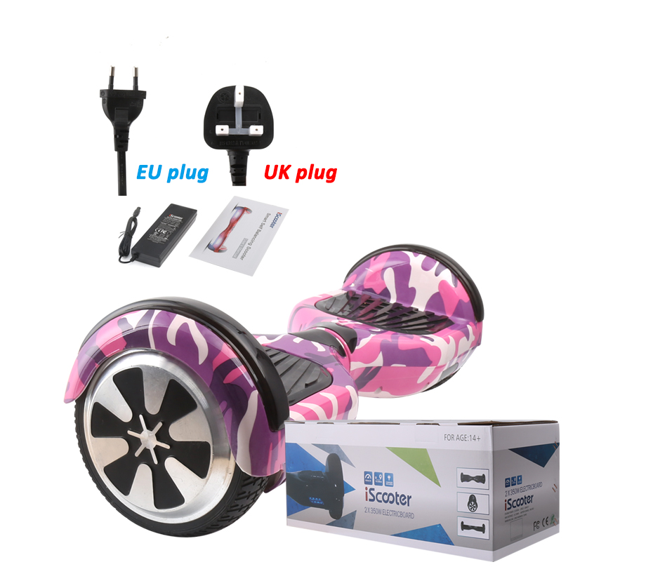 IScooter 6,5 дюймов Ховерборд Bluetooth Динамик Электрический Giroskuter Gyroscooter за бортом гироскопа два колеса самоката Hover доска