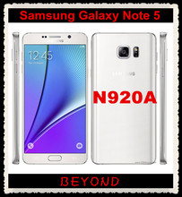 "Samsung Galaxy Note 5 N920A AT&T Original Unlocked 4G GSM Android Mobile Phone Octa Core 5.7"" 16MP RAM 4GB ROM 32GB"