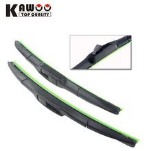 "2pcs car wiper blade for Kia CEED,Size 24""+18"" (2009-2012) windcreen wiper blades soft rubber strip auto accessories styling"