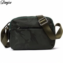 DANJUE Small Shoulder Bags for Men Military Style Water-resistant Cross Body Bags Cellphone Camouflage Messenger Bags D8090-2