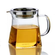 Heat-resistant Glass Kungfu Tea Fair Mug with Filter and Cups Teaset Water Jug Beer Serving Pitcher Milk Coffee Juice Mug Bottle(China)