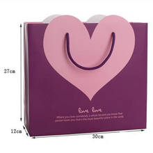 Bag High end originality Cosmetic Purple love Hand bag wedding gift bag 005631