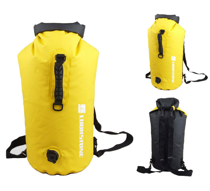 New Camping Dry bag Waterproof Bag Outdoor Bag Can Be Inflatable 60L TR-60L<br>