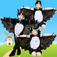 Costume Crow Hawk Animal Cosplay Dress-Up Halloween-Animals Girl Kids Children for Boy