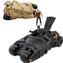 Genuine Batman chariot model the Dark Knight rises with the action figure toys car Batman Tumbler Batmobile Toy Christmas gifts