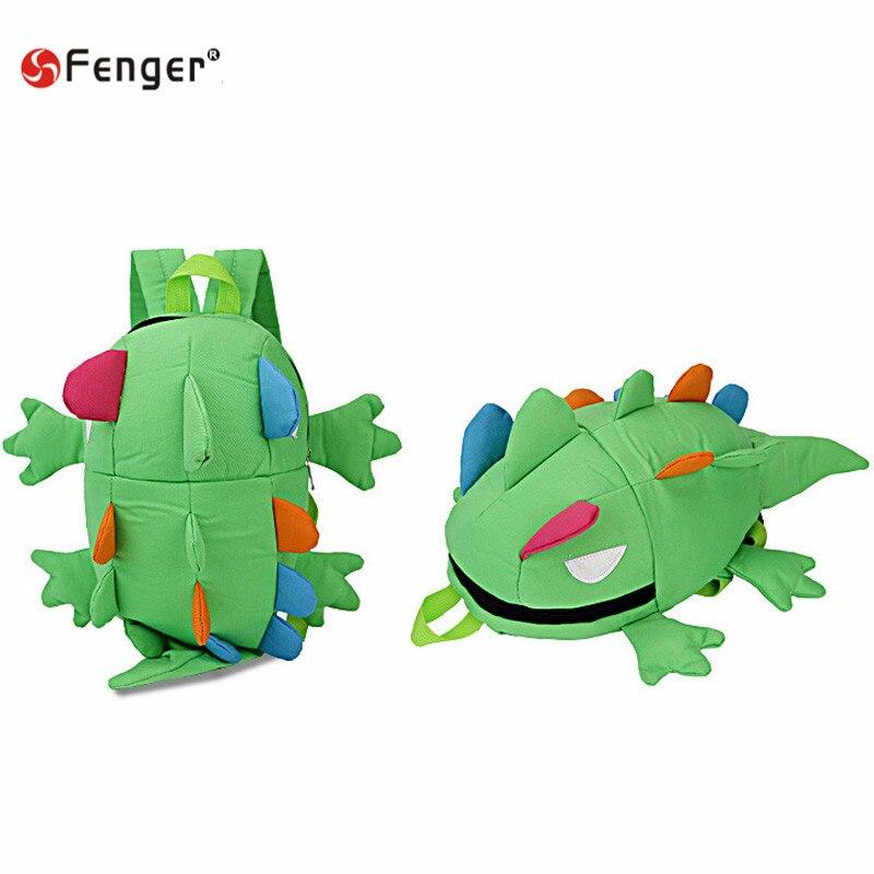 Cute 3D Solid Chameleon Backpack for children canvas Monster Shaped School Bag Shark Satchel Bags Bolsa Mochila Feminino<br><br>Aliexpress