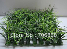 Artificial plastic long grass mat boxwood mat