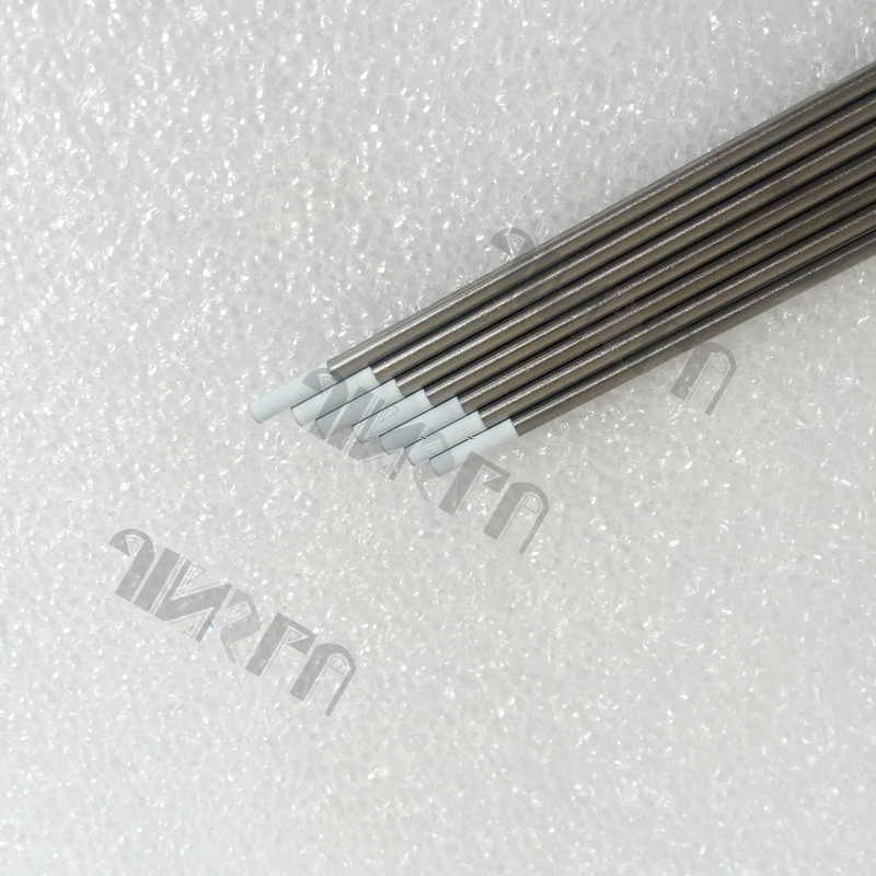 Free Shipping Tig Tungsten Electrode WZr8 White Head 0.8% Zirconiated 3/32 2.4*150mm 10PCS<br><br>Aliexpress