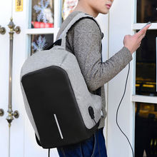 Outdoor Waterproof Large Capacity USB Charging Backpack Camera Bag Laptop Bag Anti Thief Travel Bag for Teenagers Man Males(China)