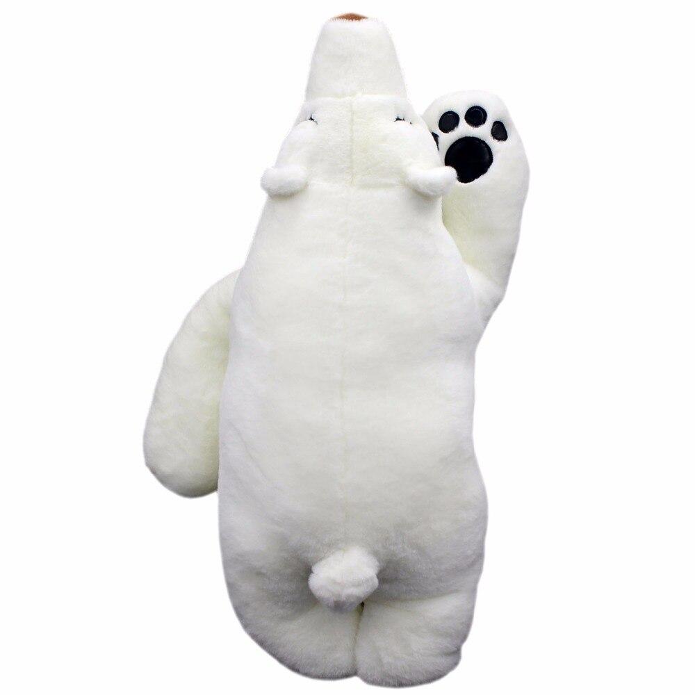 JESONN Soft Plush Toys Polar Bear Pillows Stuffed Animals Bear for Kids Gifts,60 CM<br>