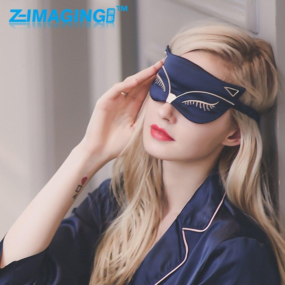 Hot Sale! Black MaskNatural Sleeping Eye  Mask  Sleep Rest Silk Mask Cover Eye Patch Soft Portable Blindfold Travel Eyepatch<br>