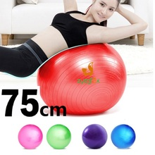 ZYMFOX Yoga Pilates Fitball,Balance Gymnastic Ball,Home Gym Ball,Slim Fitness Powerball Exercise Equipment Fitness Ball Sports