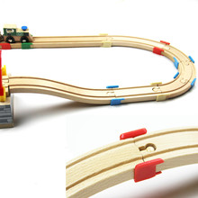 Thomas Wooden Train Track Railway Accessories --The Wooden Track Plastic Holder Tight Wood Tracks-Thomas and Friends