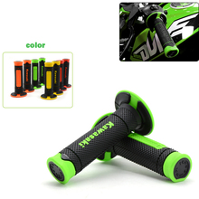 Universal 7/8'' Motorcycle Handlebar Grip Rubber Handle Bar Dirt Motorbike Handlebar Grips For Kawasaki Versys 650 KX 85 65 125