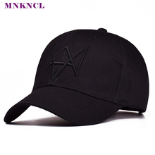 High Quality Watch Dogs Aiden Pearce Baseball Cap Costume Cosplay Watch Dogs Hat Adjustable Snapback Cap Hats(China)