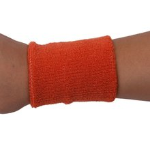 1x Headband and 2x Elastic Wrist band for Sports - Orange