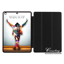 Michael Jackson Legend Artist Lovely Smart Cover Case For Apple iPad 2 3 4 Mini Air 1 Pro 9.7(China)