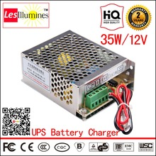 AC/DC UPS Power Supply 13.8V Battery Charger with CCTV Switch Function CE ROHS Approval 35W 2A 12V UPS Power Supply Driver Box