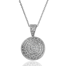 ZHOUYANG N108 Round Necklace Silver Color Fashion Jewellery Nickel Free Necklace Rhinestone Crystal Elements(China)