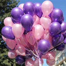 20pcs/lot 10inch1.2g Latex balloon Helium Pearl balloons Wedding globos Party Birthday Balls Classic toys christmas gift Becky