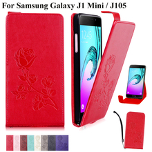 Buy Phone Case Samsung Galaxy J1 Mini J105 J105f SM-J105H Flower Design Wallet Leather Flip Cover Cases Galaxy J1 Nxt duos for $3.05 in AliExpress store