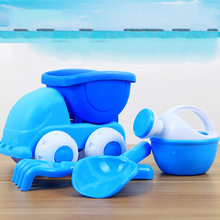 Beach Sand Play Toys Car Sand Playing Tools Water Toys Bucket Spade Mold Tools Summer Swimming Pool Tool Learning Educational