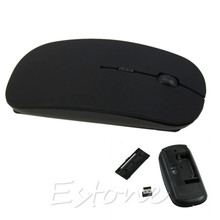 Brand NEW 2.4GHz Wireless Mouse USB Optical Scroll Mice for Tablet Laptop Computer Finest High Quality 4 Color Choice