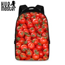 HUE MASTER 17 inch fruit pattern candy pattern children backpack school bag boys girls laptop bag can store 15.6-inch computer