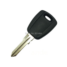 20pcs/lot Transponder Key Blank For Fiat Car Entry Uncut Key Blade No Chip Replacement Shell Fob