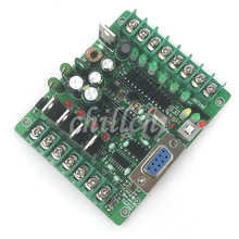 PLC industrial control panel board microcontroller programmable controller solenoid contactor drive FX1N-10MT