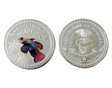 Mandarinfish Animal Coin 5000 Francs Troy Oz. 999 Fine Silver Collection Coins(China)