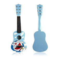uke children's toys guitar robot cat duo a dream string guitar instrument for early childhood education christmas(China)