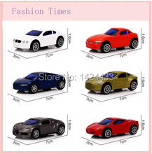 6 Styles / Set Pull Back Car Toys For Baby Children Racing Car Brinquedos Kid's Mini pull back Cars Machine Model Toys Gift(China)