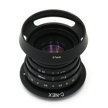 NEW Fujian 35mm f/1.6 CCTV II lens for Sony NEX E-mount camera & Adapter bundle(China)