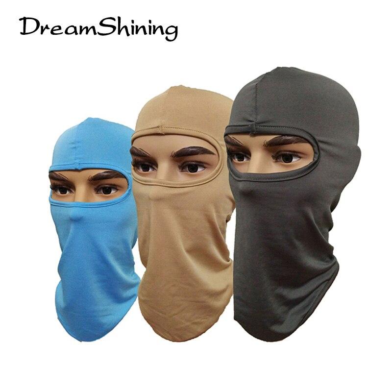 DreamShining High Quality Windproof Bicyle Cycling Motorcycle Fleece Full Face Mask Winter Hood Cap Headwear Thermal  SportsÎäåæäà è àêñåññóàðû<br><br><br>Aliexpress