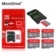High Quality micro sd memory card 8gb 16gb 32gb SDHC micro sd card 64gb 128gb SDXC microsd class 10 mini flash TF card + package(China)